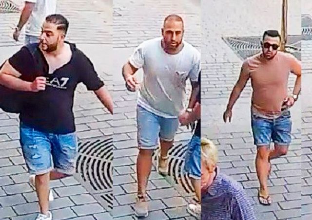 Задержание семерых иностранцев в аэропорту Праги попало на видео