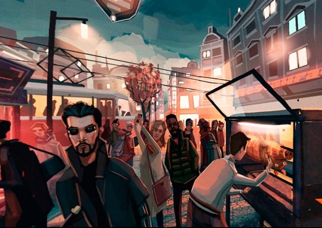 Потрясающая 3D-картина Праги от российского художника