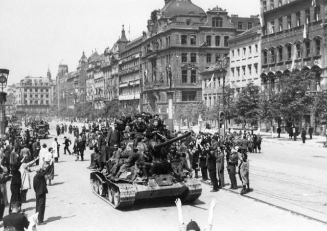 Освобождение Праги от нацистов: фото и видео