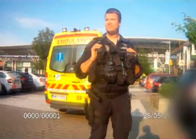 В Чехии родители оставили ребенка в раскаленной от жары машине: видео