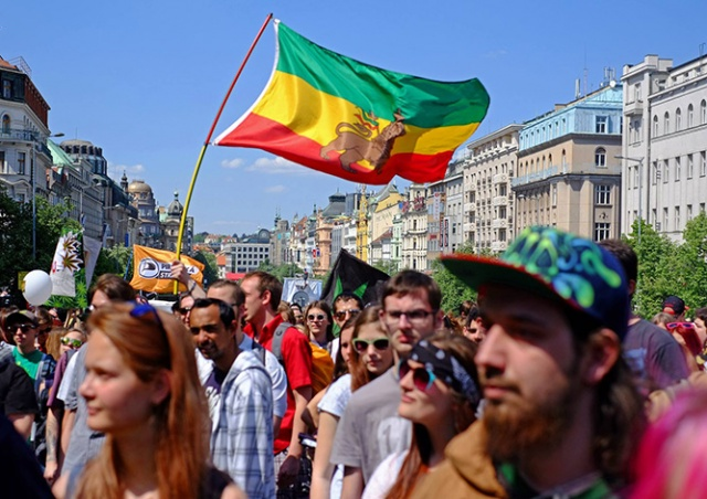 В Праге пройдет марш за легализацию марихуаны