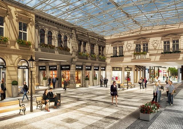 В Праге открывается крупнейший в стране аутлет-центр