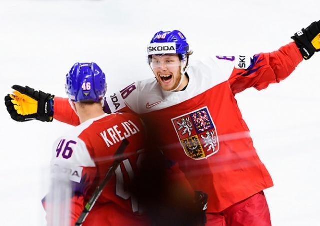 Чехия обыграла Россию на ЧМ по хоккею: видео