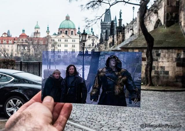 Прага в кино: фотограф прошелся по местам съемок известных фильмов