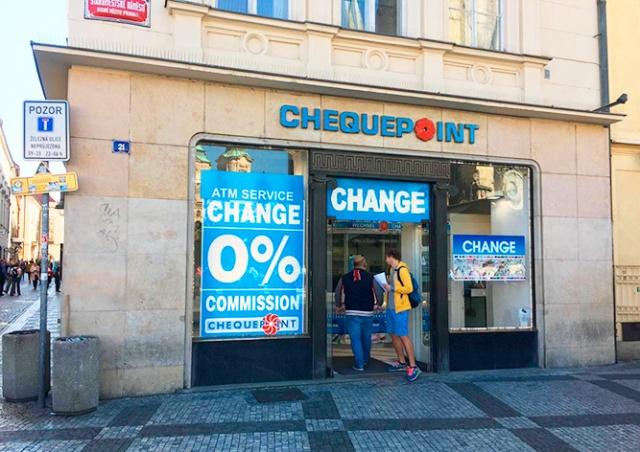 Запоздалая справедливость: сеть пражских обменников Chequepoint лишили лицензии