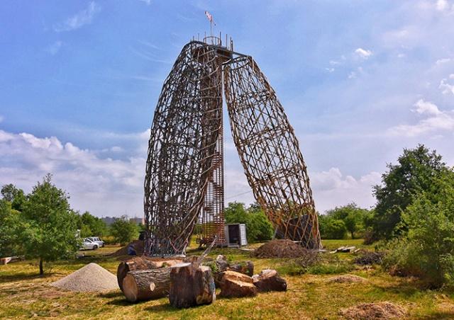 В Праге открылась необычная смотровая башня