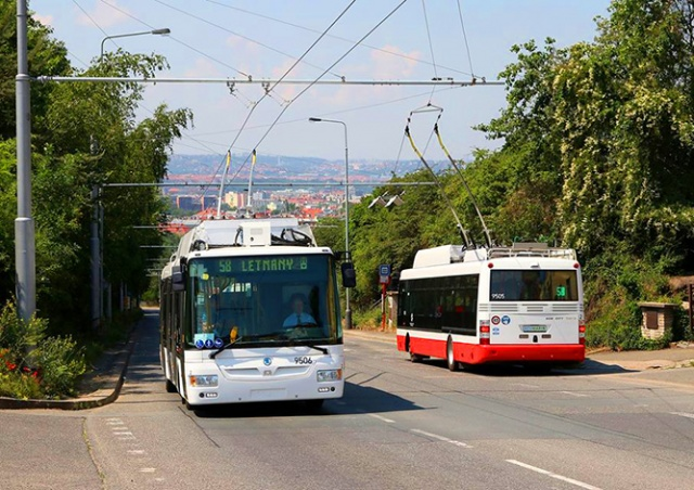 Иногда они возвращаются: в Праге запускают троллейбусы