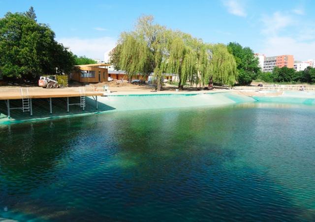 В Праге готовится к открытию обновленное водохранилище «Лготка»