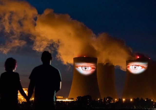 У атомной электростанции в Чехии «выросли» глаза: видео