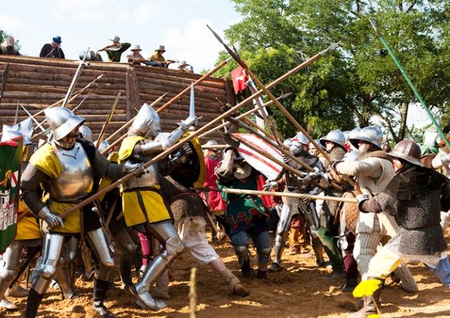 В субботу в Праге пройдет реконструкция битвы на Виткове