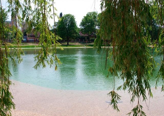 В Праге для купания открылось обновленное водохранилище «Лготка»