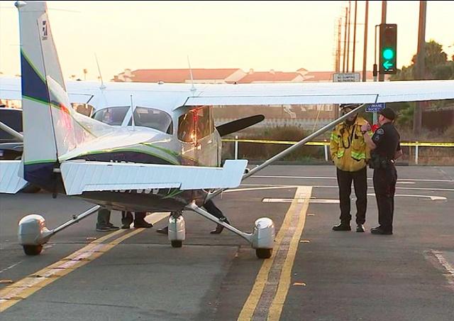 Девушка-пилот совершила вынужденную посадку на шоссе: видео