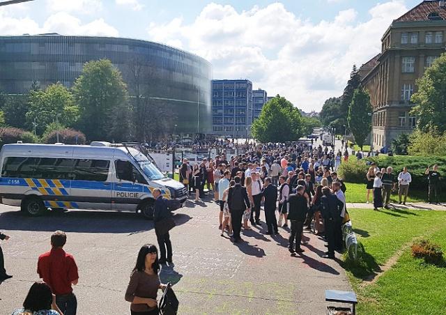 Пражский вуз эвакуировали из-за сообщения о бомбе