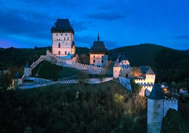 В субботу в Чехии пройдет «Ночь крепостей и замков»