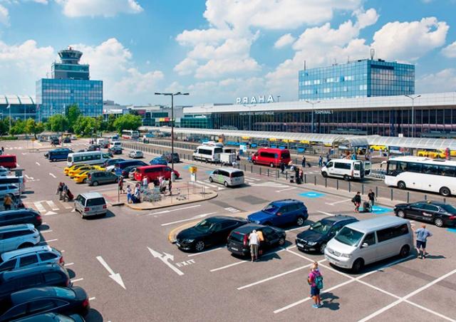 Пражский аэропорт изменил условия бесплатной парковки