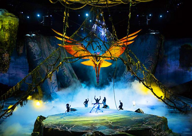 Cirque du Soleil покажет в Праге шоу по мотивам «Аватара»