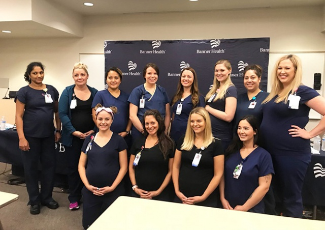 В американской больнице одновременно забеременели 16 медсестер