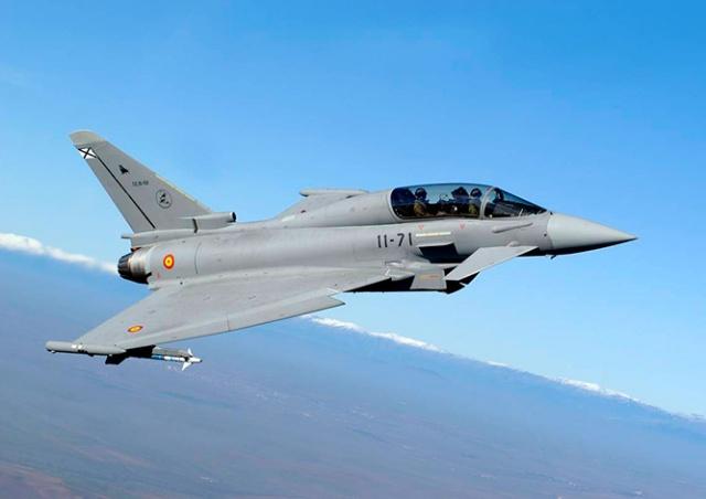 Испанский истребитель случайно выпустил боевую ракету над Эстонией