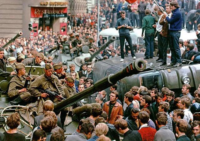 Бесплатная экскурсия «Прага-1968» на русском языке