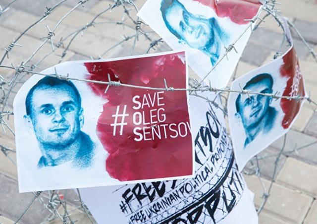 Чешские кинематографисты объявили голодовку в поддержку Сенцова
