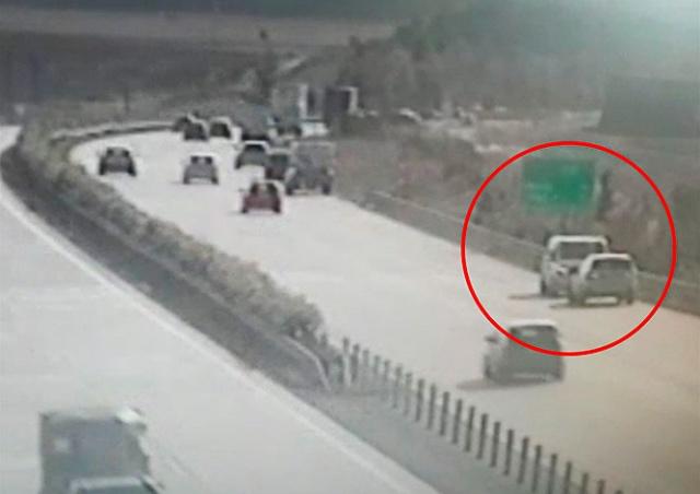 Дурной пример: массовое нарушение ПДД произошло на автомагистрали в Чехии