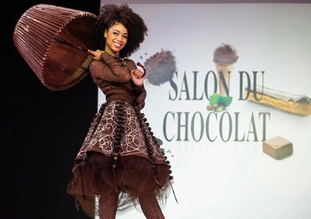 Международная выставка шоколада в Париже