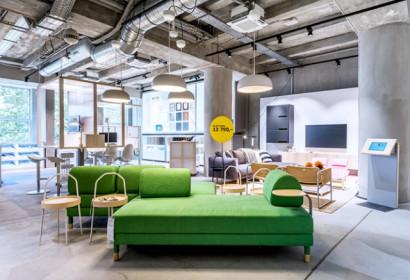 IKEA открывает магазин в центре Праги: видео