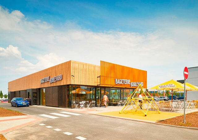 Bageterie Boulevard открыла в Праге первый ресторан для водителей