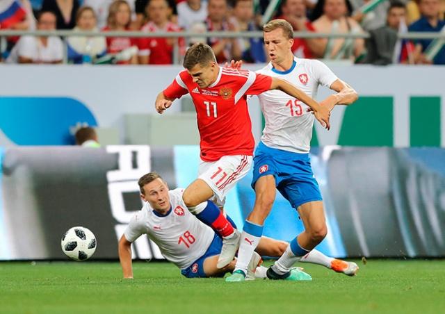 Сборная России нанесла Чехии крупнейшее поражение в истории: видео