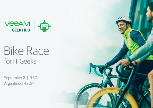 Veeam Software приглашает на первый IT-велозаезд в Праге