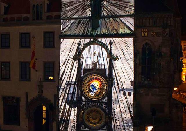 В пятницу на башне Староместской ратуши покажут видеомэппинг