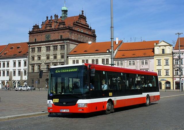 В Пльзене общественный транспорт стал для детей бесплатным