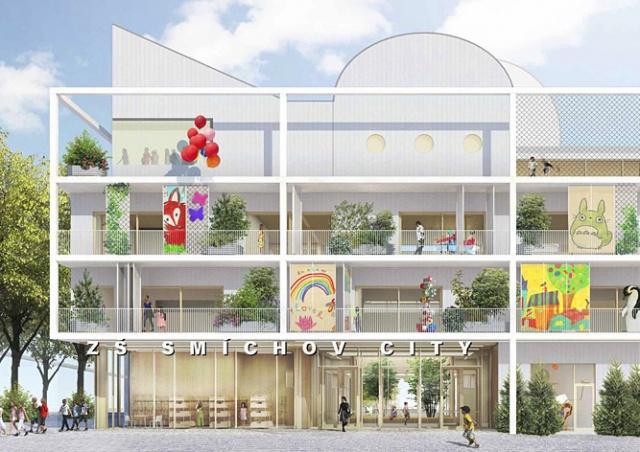 Smíchov City получит самую современную в Праге школу