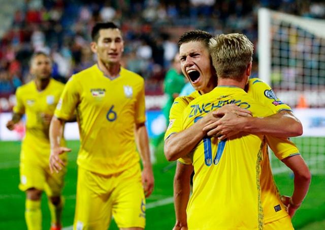 Украина дожала Чехию в матче Лиги наций: видео