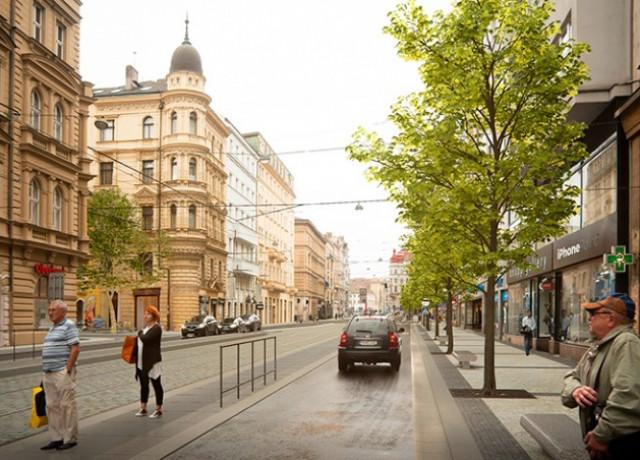Как изменится улица Revoluční в Праге после реконструкции: фото
