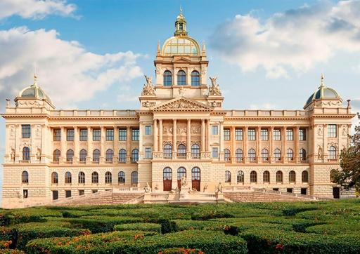 На здании Национального музея Праги покажут видеомэппинг