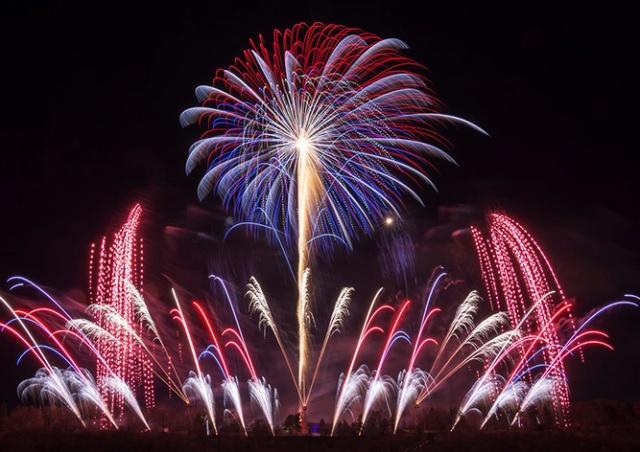 В Праге состоялся праздничный фейерверк: видео