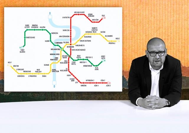 Тест на пражака: представлены «правдивые» названия станций метро