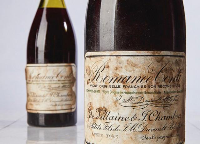 На аукционе в Нью-Йорке бутылку вина продали за $558 тысяч