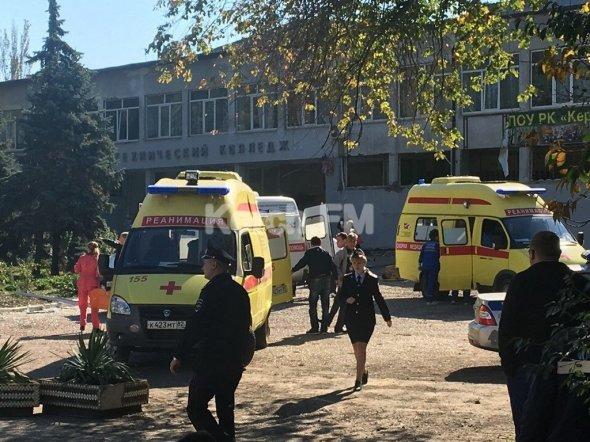 Взрыв в крымском колледже: 18 человек погибли, 40 ранены