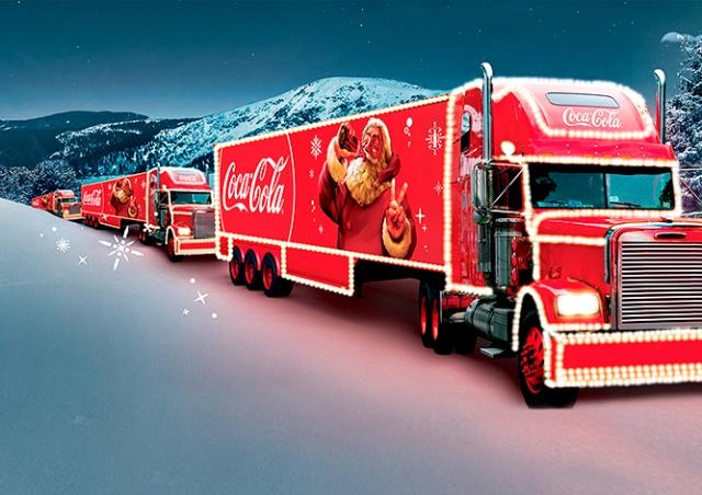 Рождественский грузовик Coca-Cola посетит 30 городов Чехии