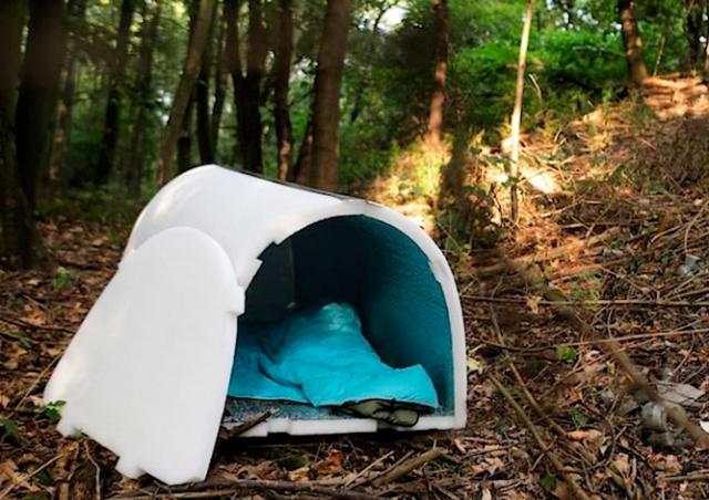 В Чехии запустили проект «Иглу для бездомных»