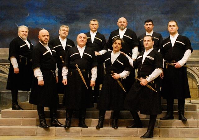 В пятницу в Праге выступит грузинский ансамбль «Сулико»