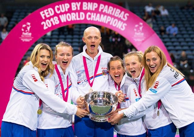 Теннисистка с русскими корнями принесла Чехии победу в Кубке Федерации