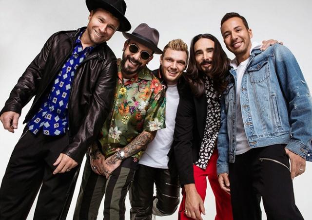В Праге выступят Backstreet Boys