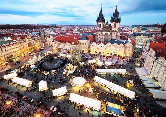 В центре Праги состоится бесплатный новогодний концерт