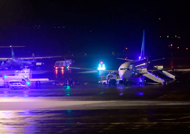 В Праге пассажиров экстренно вывели из самолета из-за рисунка