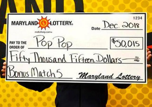 Пенсионер перепутал номера в лотерее и выиграл $50 тысяч