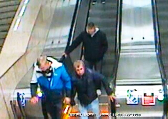 В Праге неизвестные беспричинно избили пассажира метро