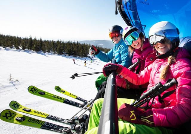 Чешский курорт «Шпиндлерув-Млын» открыл зимний сезон